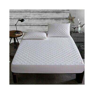"""Extra Deep 16"""" MATTRESS PROTECTOR FITTED MATTRESS COVER Non Allergenic All Sizes"""