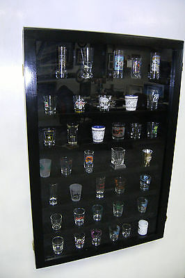 Shot Glass Display Case for Shot Glasses