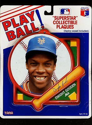 1990 Dwight Gooden Play Ball Plaque (Rare by Tara Toy)