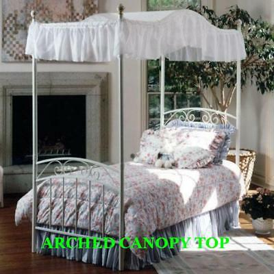Purple Ruffled Canopy Top Cover for Twin Size Bed NEW and SO CUTE!