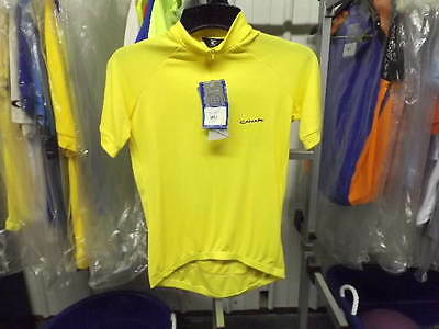 New Yellow Canari Alta Pro Cycling Jersey..Men s Small 3725102df