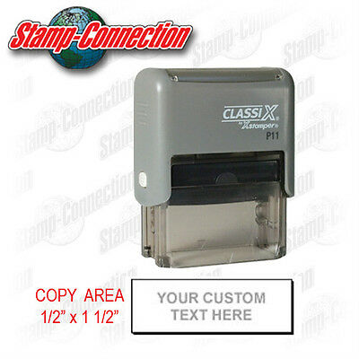 Xstamper Classix P11 Self-Inking 3 Line Address Stamp Ideal 50 Size
