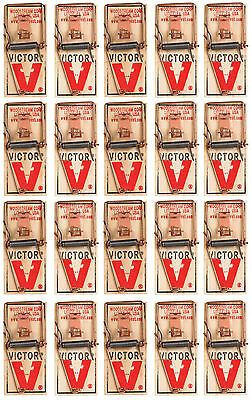 20 Victor Mouse Trap Old Fashion Mouse Trap 20 pack