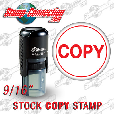 Shiny 517R COPY Self-Inking Stamp (RED)