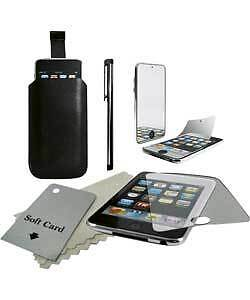 Ipod Touch Starter Pack - Case,stylus,screen Protector