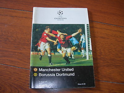 1997 Champions League Semi Manchester United V Dortmund