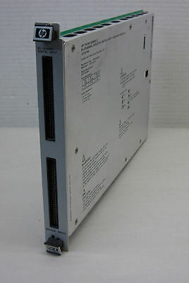HP VXI Z2404B 64-Channel Isolated Digital Input/Interrupt Module Z2404-66211