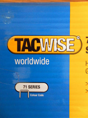 Tacwise Type 71/12 Series Staples 12mm - 20000 Pack
