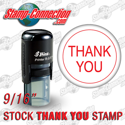 Shiny 517R THANK YOU Self-Inking Stamp (RED)