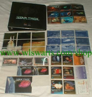 Star Trek 30th Anniversary Phase 3 MASTER set of 133 trading cards! RARE! SkyBox