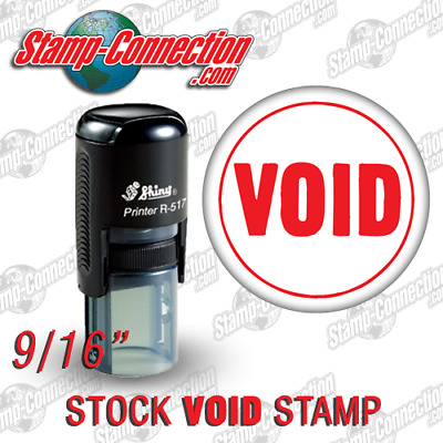 Shiny 517R VOID Self-Inking Stamp (RED)