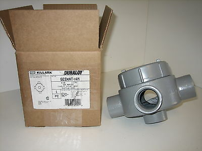 "Nos! Cooper / Crouse Hinds 2"" Outlet Box Guan69"