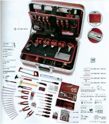 Valise Abs A Outils 159 Pieces Kraftwerk 3998