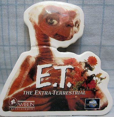 "E.T. - The Movie 2"" Promotional Pinback Button [1982]"