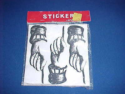 1960's HAND POINTING FINGER STICKERS BEATLES SGT. PEPPER MONTY PYTHON