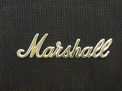 Marshall White/Gold Script Logo 8 (150mm) (DO NOT PURCHASE WITHOUT A MODEL OR SE