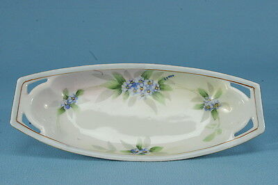 Meito China Hand Painted Nippon Butter Dish Floral