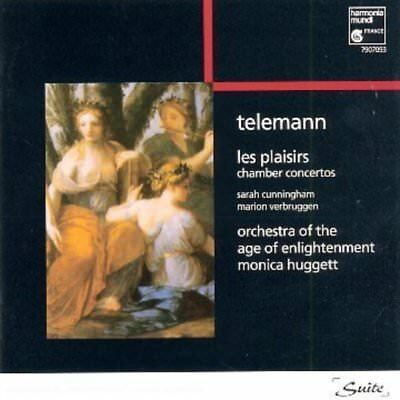 Telemann (Cunningham Verbruggen) - Les Plaisirs CD