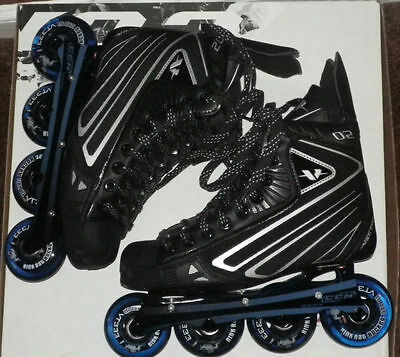 CCM V02 junior roller hockey skates