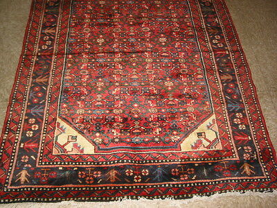 Antique Melayer Frahan Design Persian Rug B-7324