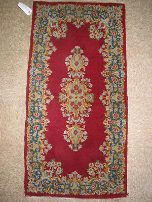 Vintage Kerman Hand Knotted Persian Rug B-7904