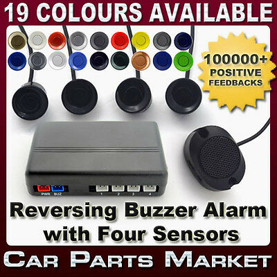 REVERSING PARKING SYSTEM KIT 4 REVERSE SENSORS BUZZER ALARM 24h DISPATCH