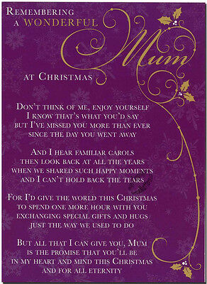 Missing Mom At Christmas.Missing You Daughter Christmas Memorial Grave Graveside Card