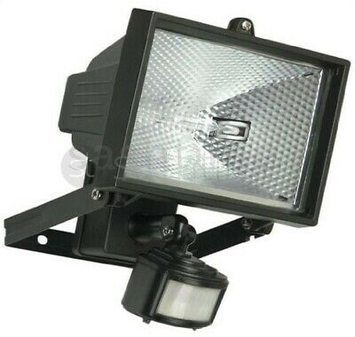 New 400W Motion Pir Sensor  Halogen Floodlight Security Garden Outdoor Light