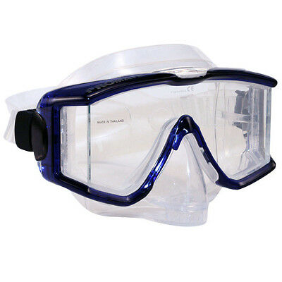 snorkeling with glasses n8hf  Promate Panoramic Edgeless Silicone Purge Mask Scuba Diving Snorkeling