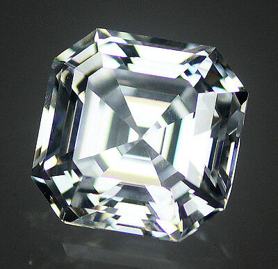 Asscher Cut 6A Quality Cubic Zirconia CZ - Size and Colour Choice