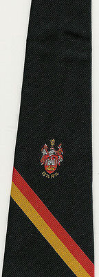Carmarthen Quins Centenary Rugby Tie With Coa