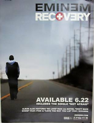 Eminem - RECOVERY 2-Sided Promo Poster - NM