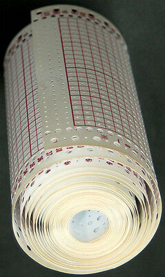 Blank Punchcards Roll Brother Singer/ Silver-Reed Knitting Machine KH860 SK280