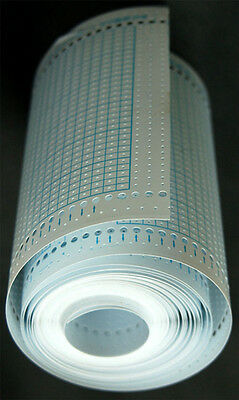 Blank Punchcards Roll for Singer/ Silver-Reed Knitting Machine SK270 SK370 SK670