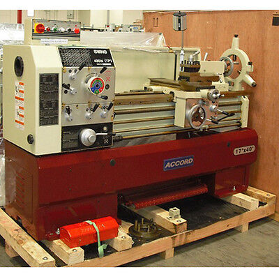 """17"""" x 40"""" / 17"""" x 60"""" ACCORD/ ACRA ENGINE LATHES  MADE IN TAIWAN AWESOME PRICE!"""