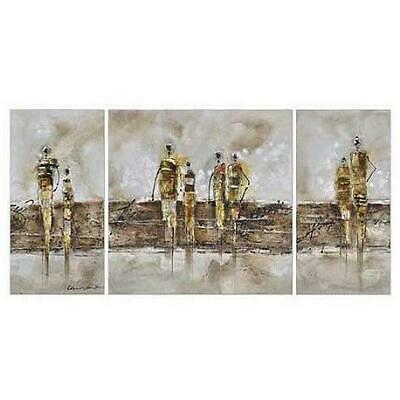 3D Abastract Modern Oil Painting Wooden Canvas Wall Art Print Home Decore 4992