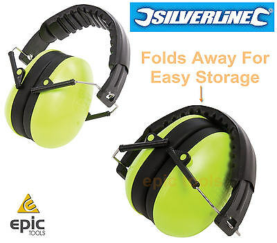 Silverline Kids/Childrens Junior Folding Ear Muffs Defenders Protectors, 315357