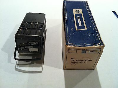 Nos! General Electric / Ge Latch Relay Cr120Kl00202Ab 115 Volt 60 Hz