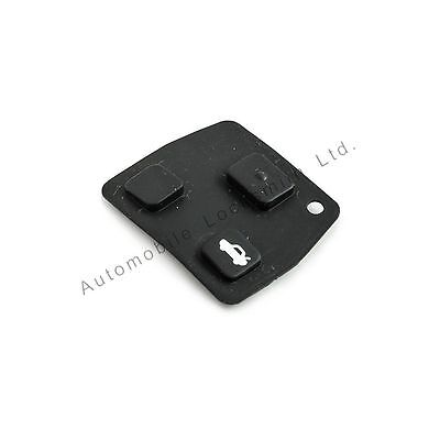 for Toyota Avensis Corolla Yaris Remote Key Fob 2 or 3 Button Rubber Pad Repair
