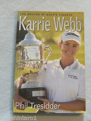 #ll. Karrie Webb Golf  Book - Autographed