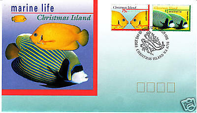 1995 Marine Life on Christmas Island  FDC
