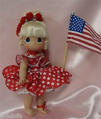 Precious Moments Inc. 12 Inch  Star Spangled Tinker Bell Doll 2010