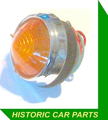 1 x Rear AMBER INDICATOR LIGHT for JENSEN Tempo 1500 58-60  replaces Lucas L539