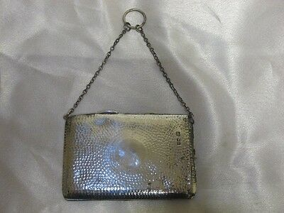 S Mordan Solid Silver Purse London 1913 Sampson Mordan