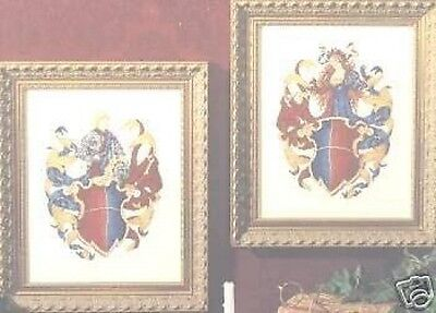 Knight & Maiden Cross Stitch Chart - Color Charts - (#11104)