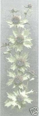 Tapestry Canvas - Sea Holly Panel - Heritage Stitchcraft - Floral