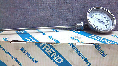 Trend Instruments Bimetal 50-300F Thermometer 31 Cr3206 New 31 Cr3206