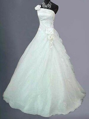 Ivory/white Bridal Wedding/evening Ball Gown Dress