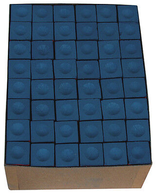 A Box Of 144 Pieces Blue Triangle Chalk