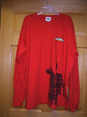 Ben & Jerrys Ice Cream Long Sleeve Red Tshirt 2XL